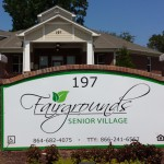 Fairgrounds Senior Sign