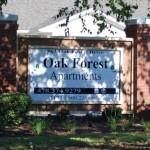 Oak Forest Senior Sign
